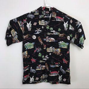 Harley-Davidson • Aloha Shirt Tori Richard HI